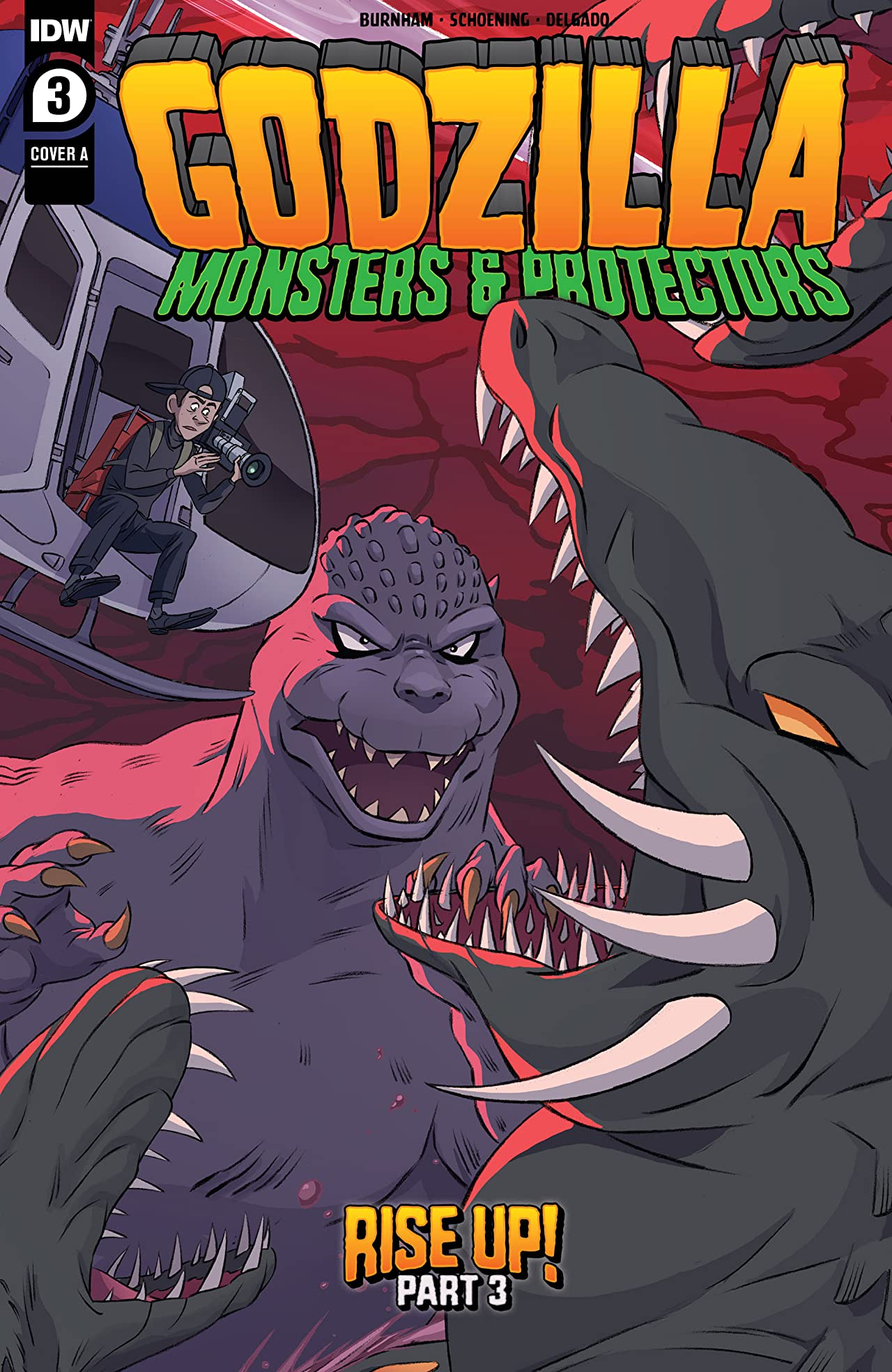 Godzilla: Monsters & Protectors #3