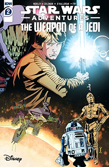 Star Wars Adventures: Weapon of a Jedi #2