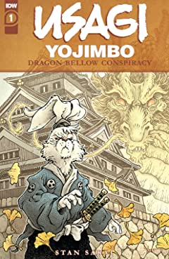 Usagi Yojimbo: The Dragon Bellow Conspiracy #1