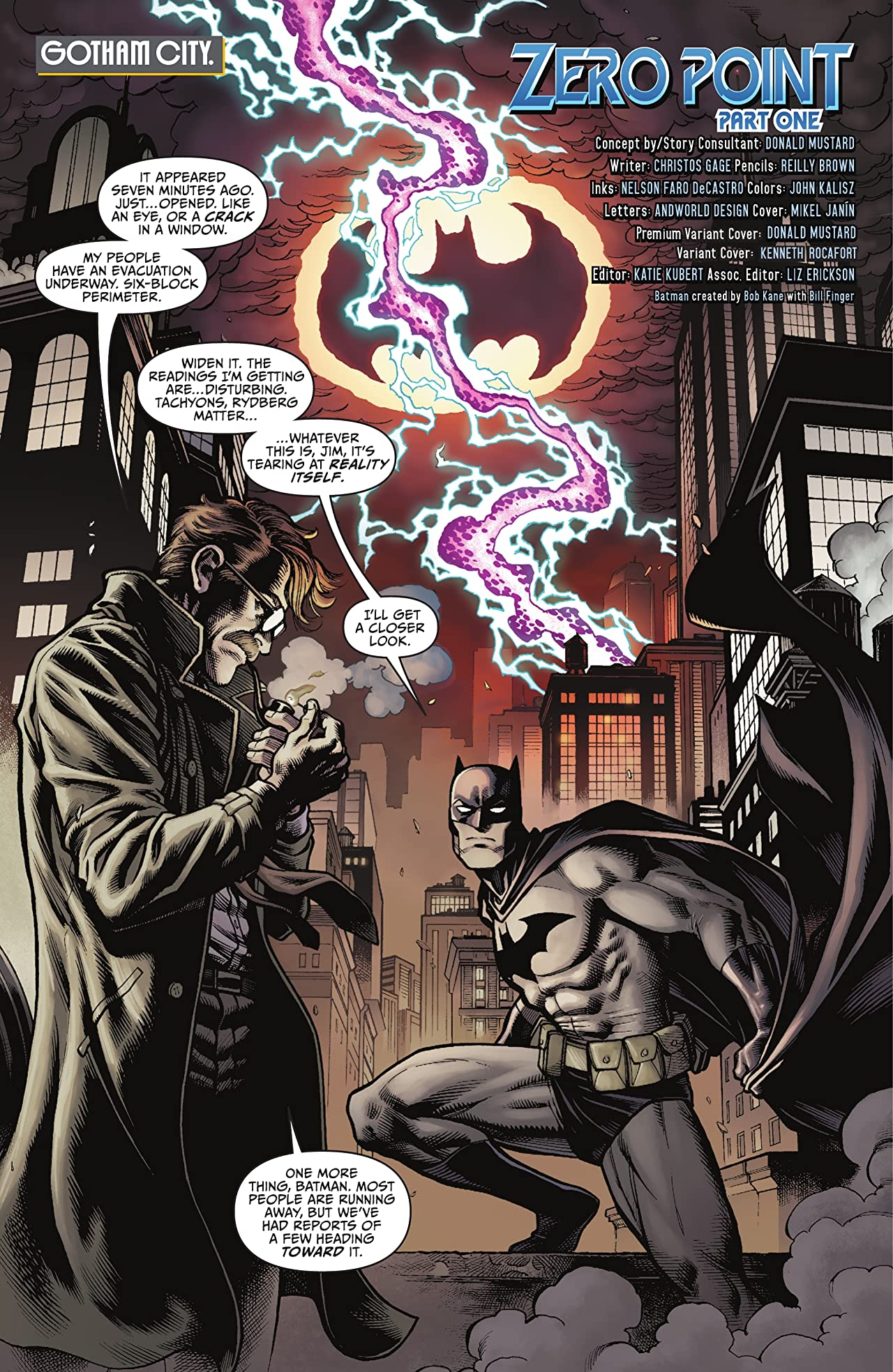 Batman/Fortnite: Zero Point (2021) *NO FORTNITE CODE* #1