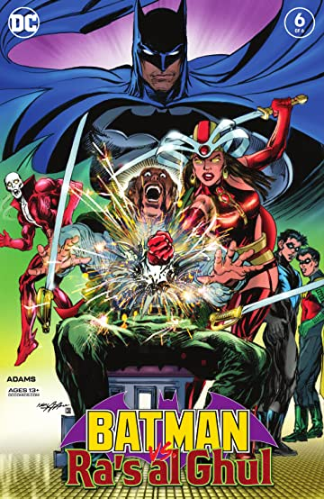 Batman Vs. Ra's Al Ghul (2019-) No.6