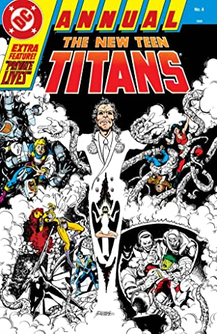 The New Teen Titans (1984-1996): Annual #4