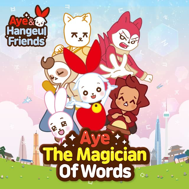 Aye and Hangeul Friends #01
