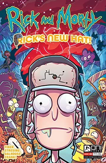Rick and Morty #1: Rick's New Hat