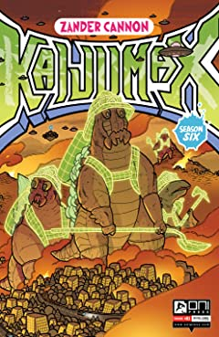 Kaijumax Season 6 No.1