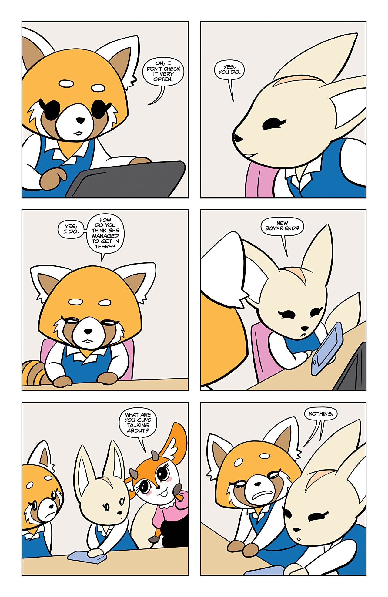 Aggretsuko #1: Meet Her World