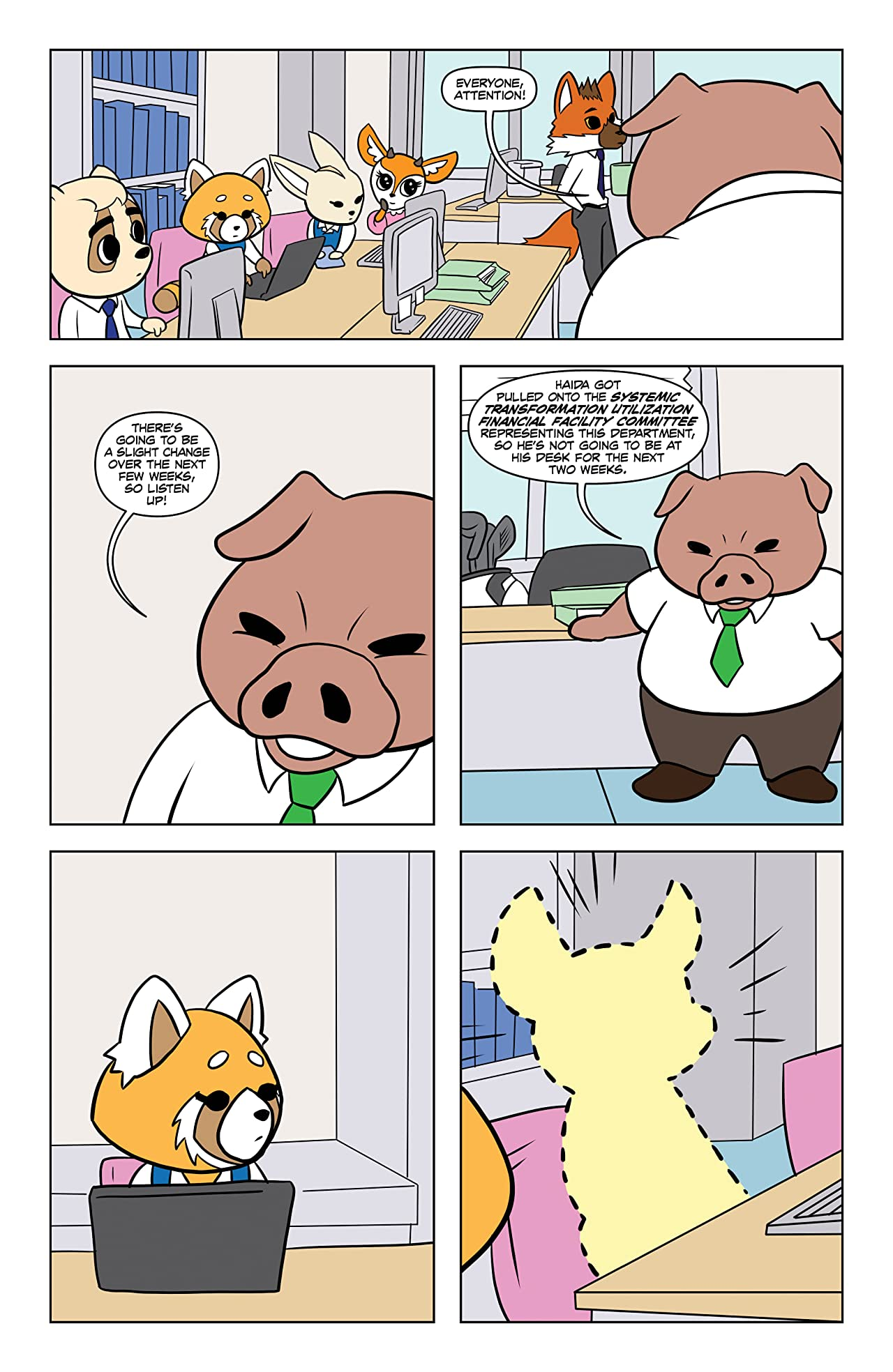 Aggretsuko No.1: Meet Her World