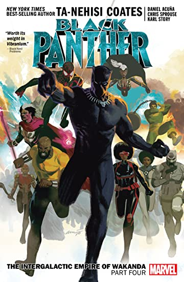 Black Panther Book 9: The Intergalactic Empire Of Wakanda Part Four