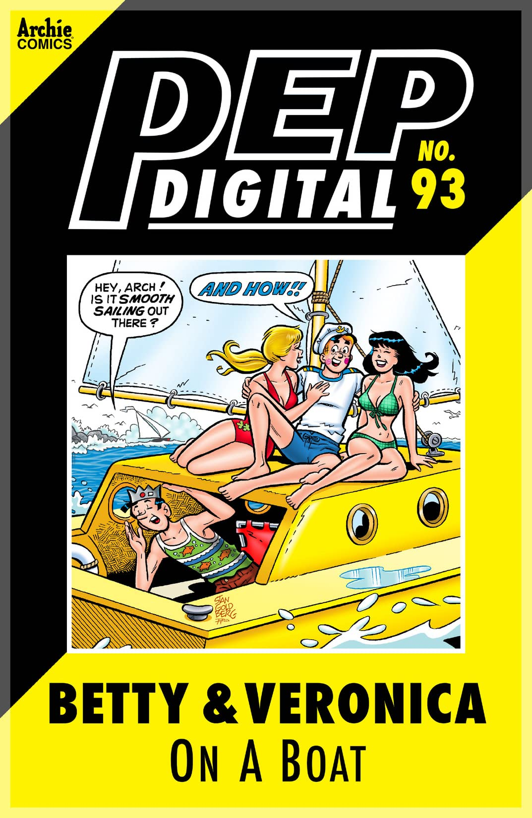 PEP Digital #93: Betty & Veronica On A Boat