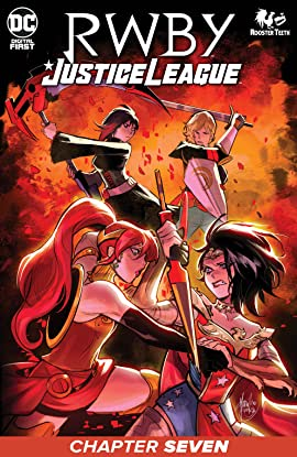 RWBY/Justice League (2021) #7