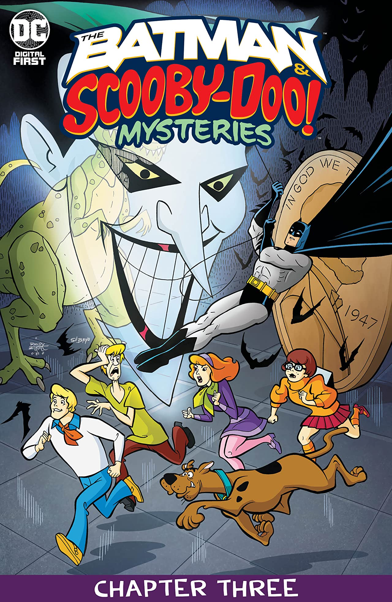 The Batman & Scooby-Doo Mysteries (2021-) #3