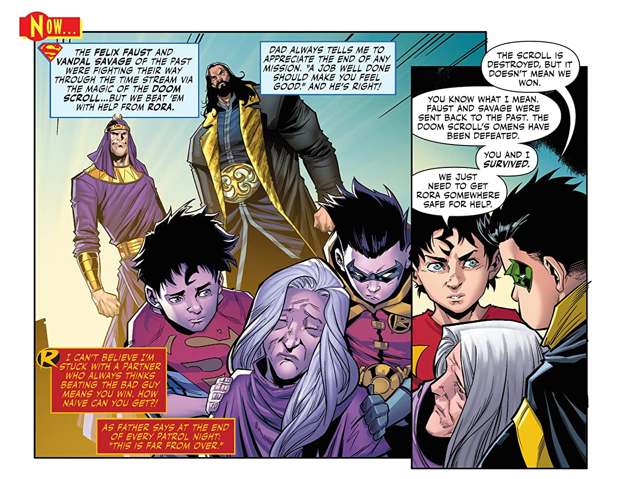 Challenge of the Super Sons (2020-) #14