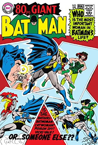 Batman (1940-2011) No.208