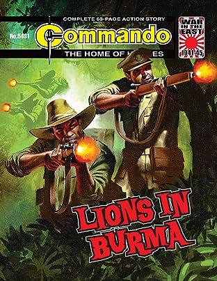 Commando #5431: Lions In Burma