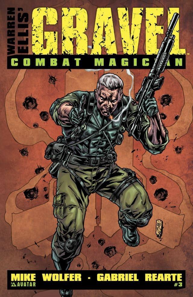 Gravel Combat Magician #3