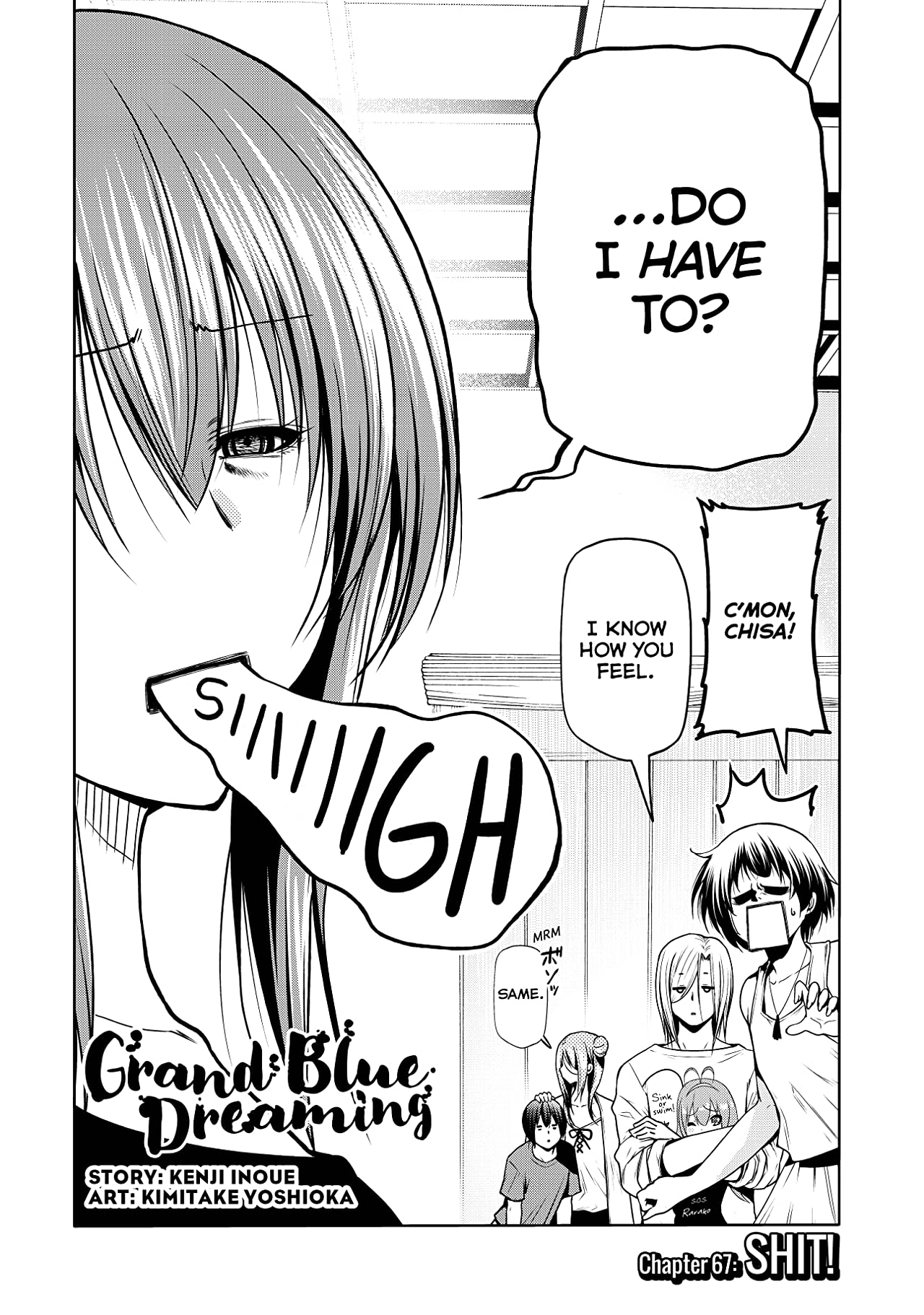 Grand Blue Dreaming No.67