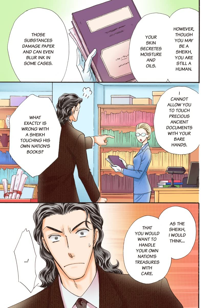 THE SHEIKH'S BOUGHT WIFE(colored version)