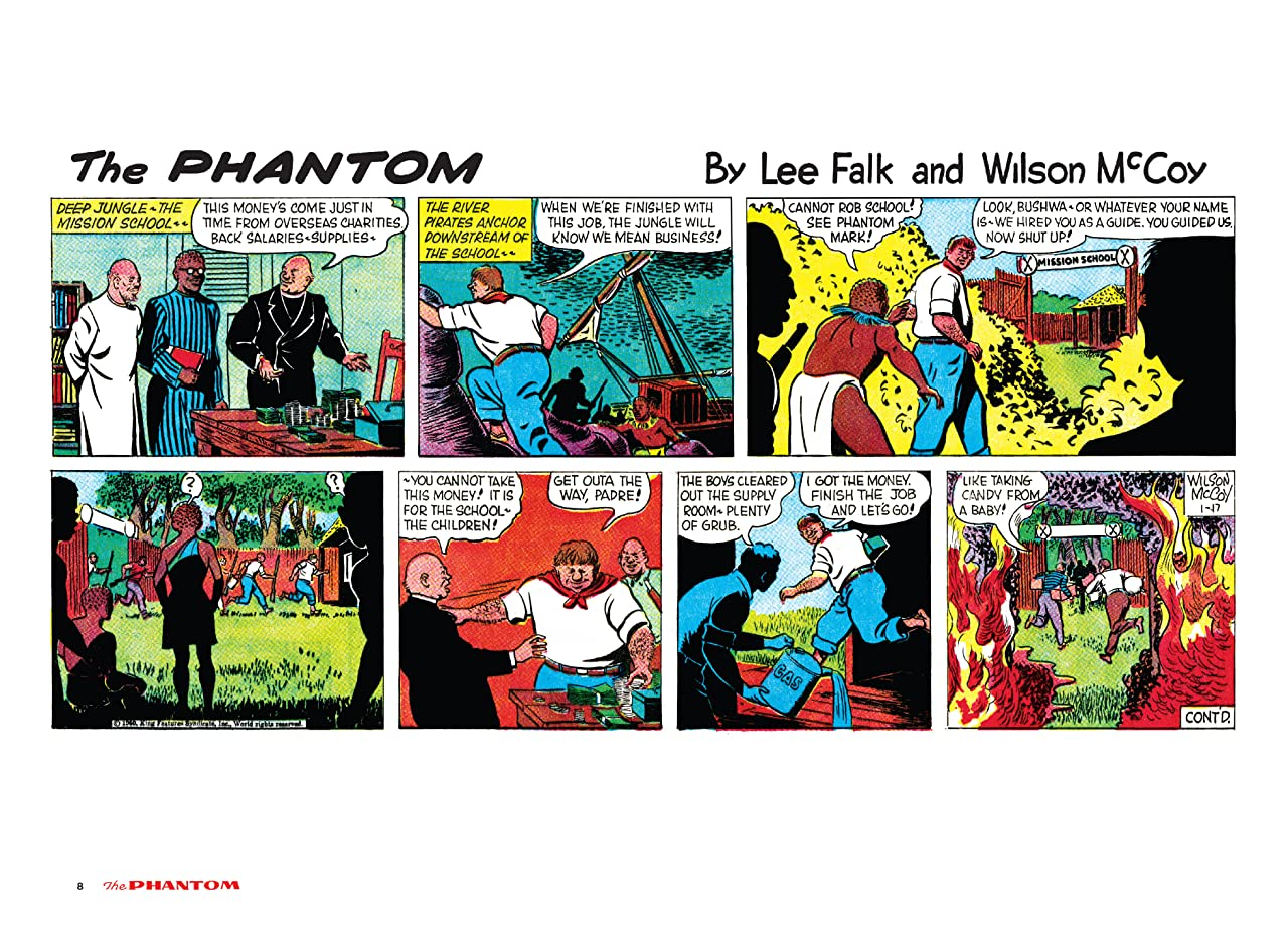 The Phantom: The Complete Sundays Vol. 7