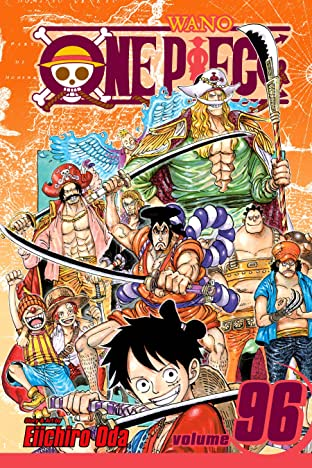 One Piece Vol. 96: I Am Oden, And I Was Born To Boil