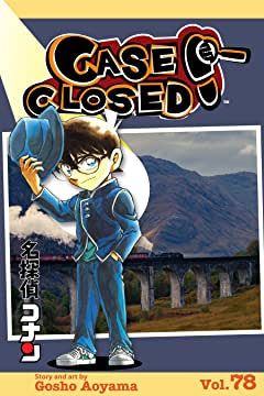 Case Closed Vol. 78: MYSTERY TRAIN