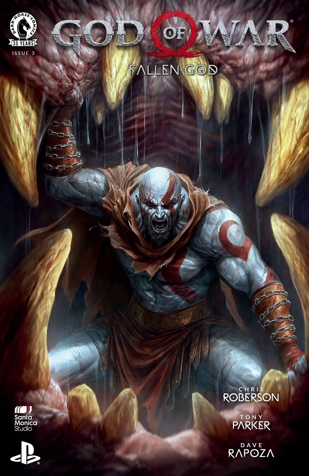 God of War: Fallen God No.3
