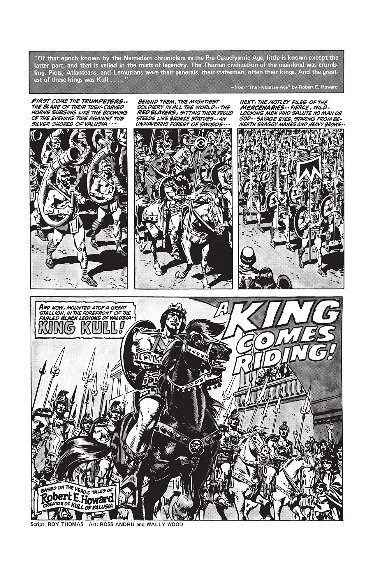 Kull And The Barbarians #1