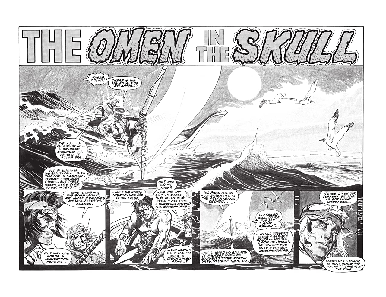 Kull And The Barbarians #3