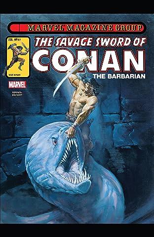 Savage Sword Of Conan #61