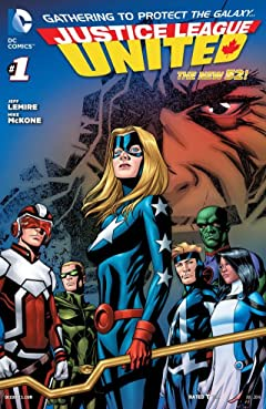 Justice League United (2014-2015) #1