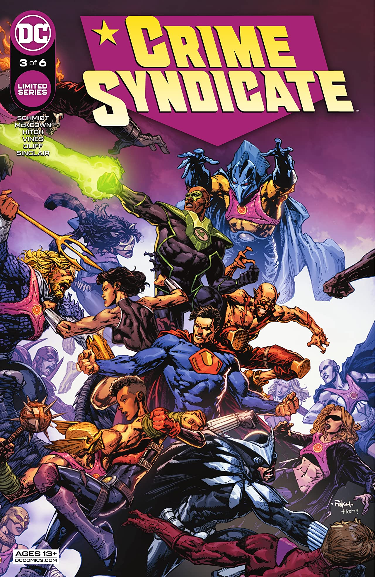 Crime Syndicate (2021-) #3