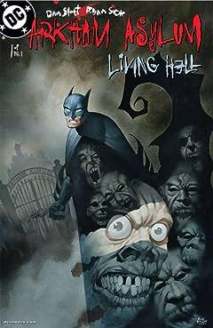 Arkham Asylum: Living Hell No.1 (sur 6)