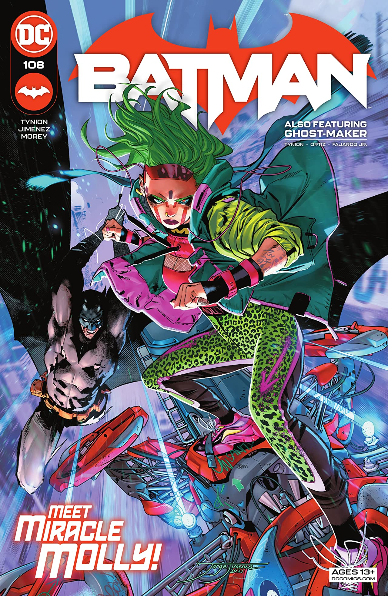 Batman (2016-) #108