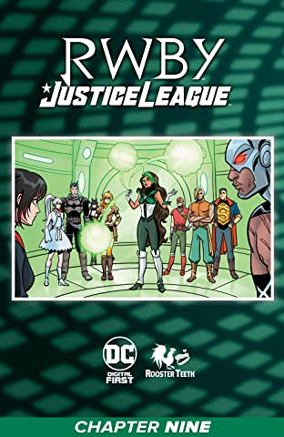 RWBY/Justice League (2021) No.9
