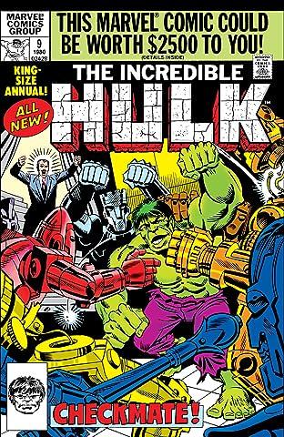 Incredible Hulk Annual #9