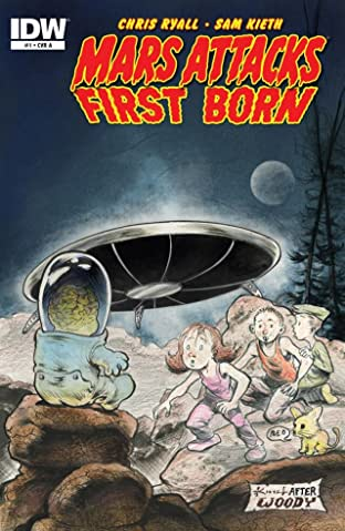 Mars Attacks: First Born #1 (of 4)