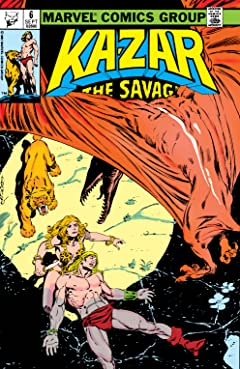 Ka-Zar The Savage (1981-1984) #6