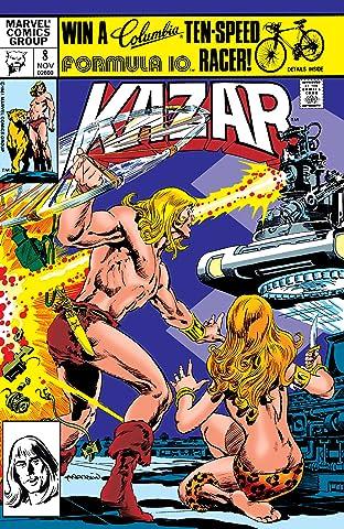 Ka-Zar The Savage No.8