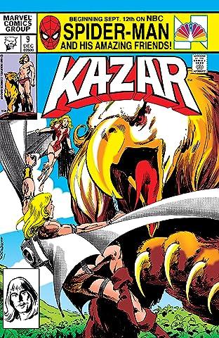 Ka-Zar The Savage No.9