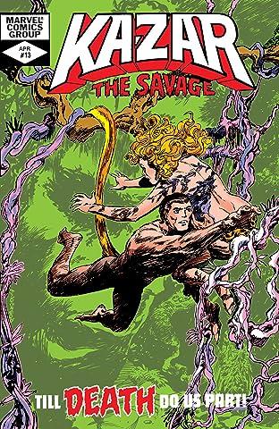 Ka-Zar The Savage (1981-1984) #13
