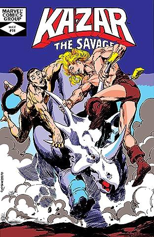 Ka-Zar The Savage (1981-1984) #14