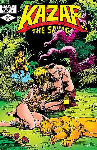 Ka-Zar The Savage (1981-1984) #16