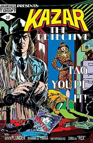Ka-Zar The Savage (1981-1984) #17