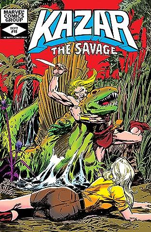 Ka-Zar The Savage (1981-1984) #18