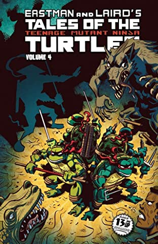 Teenage Mutant Ninja Turtles: Tales of the TMNT Tome 4