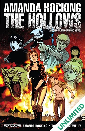 amanda hocking s the hollows a hollowland graphic novel comics by