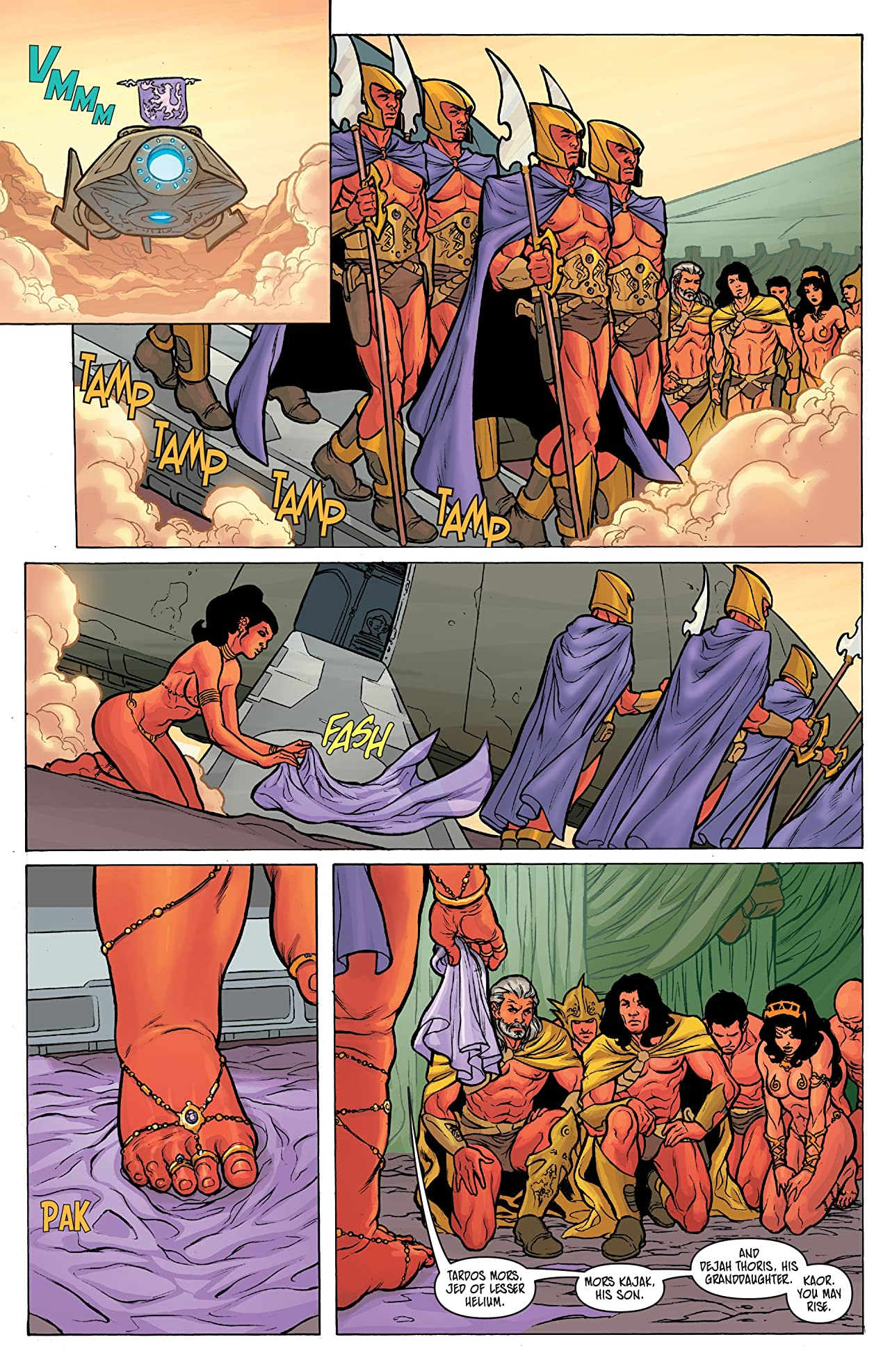 Warlord of Mars: Dejah Thoris #1