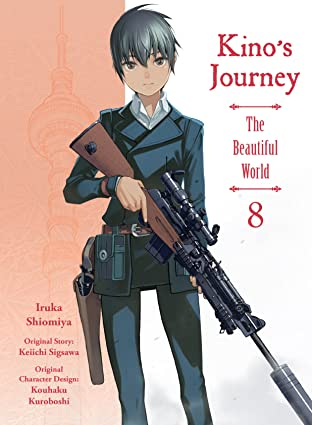 Kino's Journey Tome 8