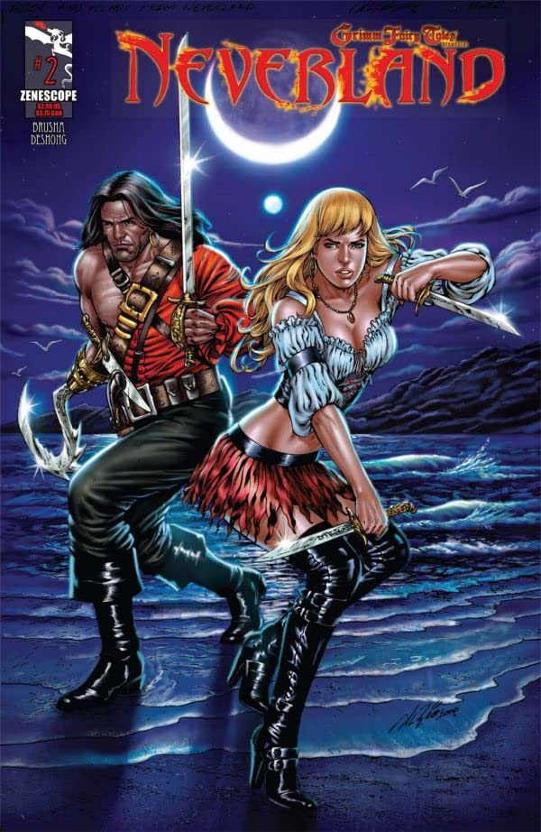 Grimm Fairy Tales Presents: Neverland #2 (of 7)