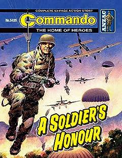 Commando #5435: A Soldier's Honour