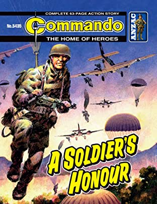 Commando #5435: A Soldier's Honour